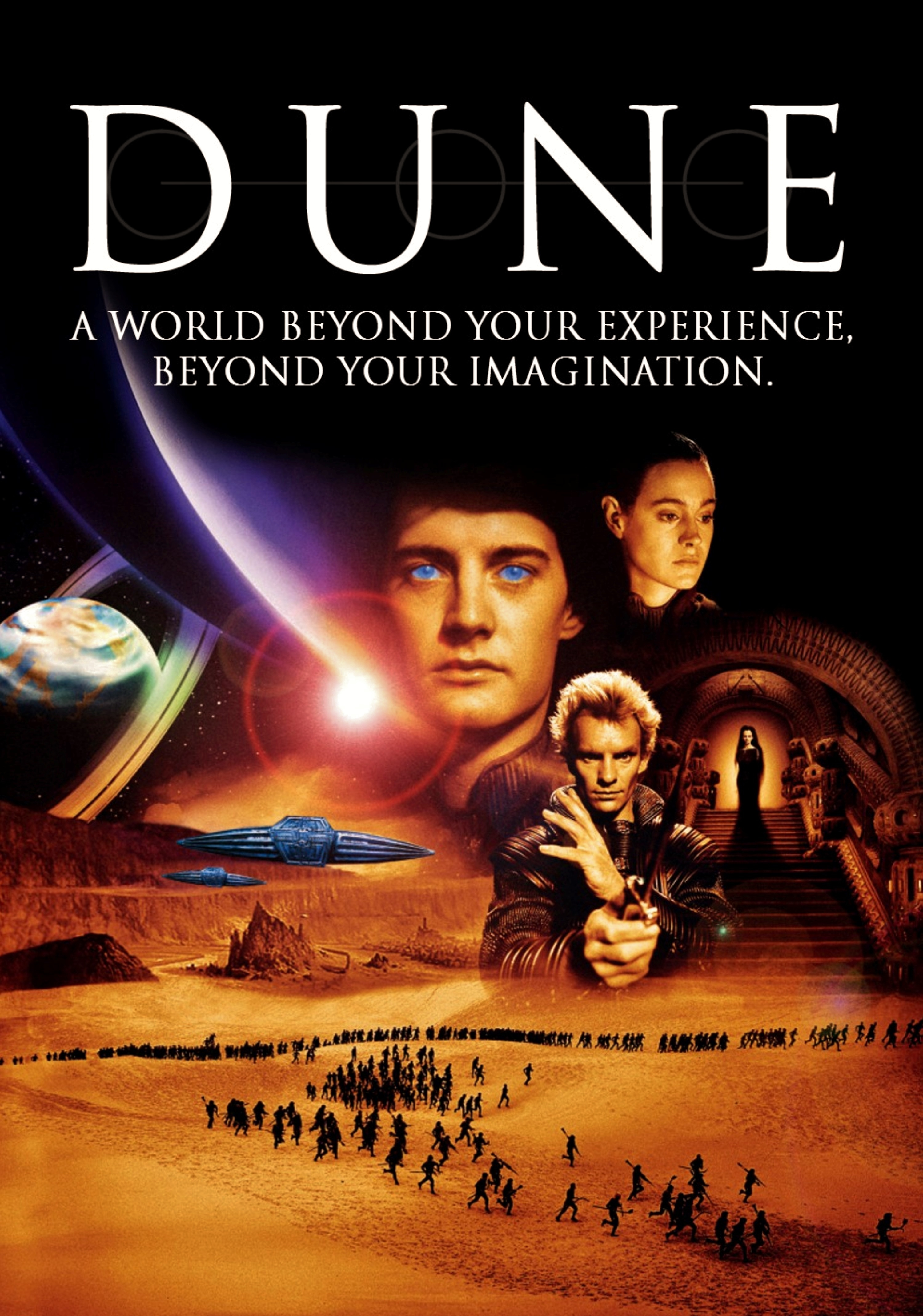 Dune Dvd Cover Artwork Chris Conway Art